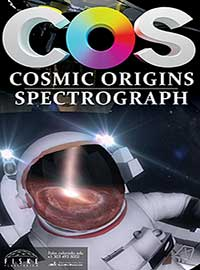Cosmic Origins Spectrograph poster